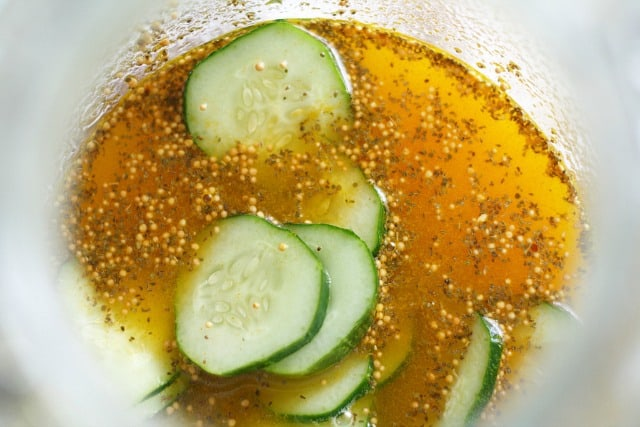 how to make fridge pickles
