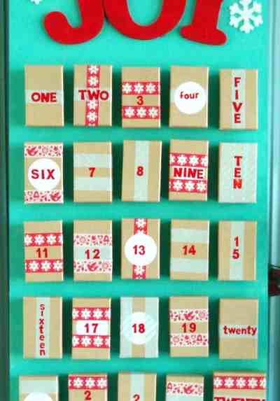 Advent calender passionative diy christmas advent calendar ideas solutioingenieria Images