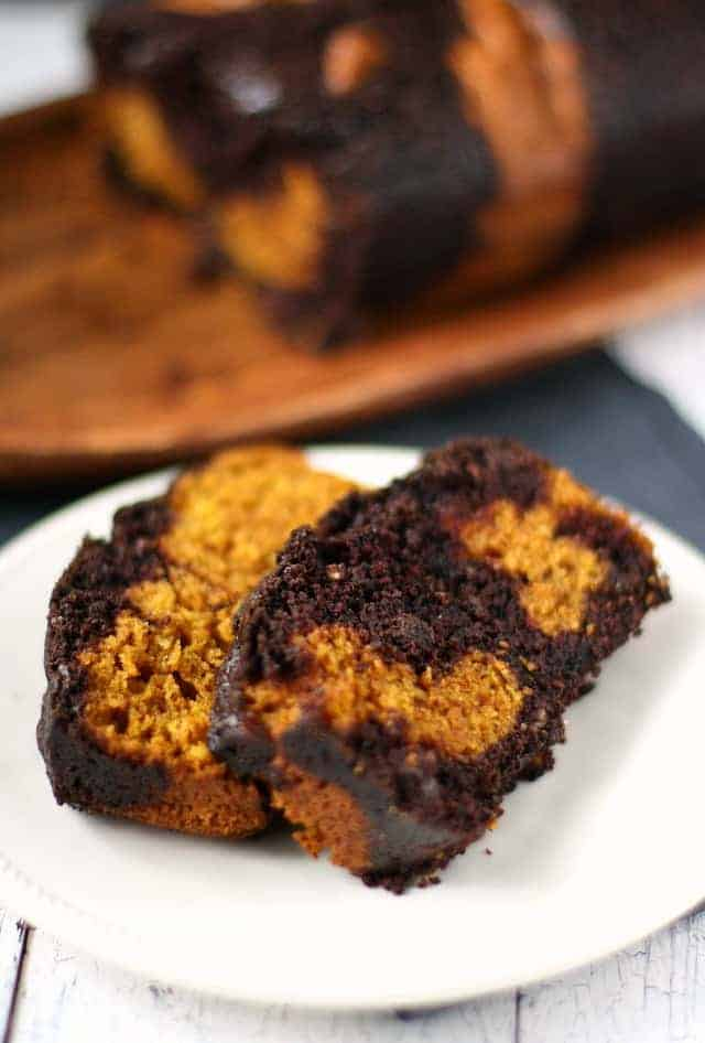 Pumpkin Chocolate Chip Loaf Cake