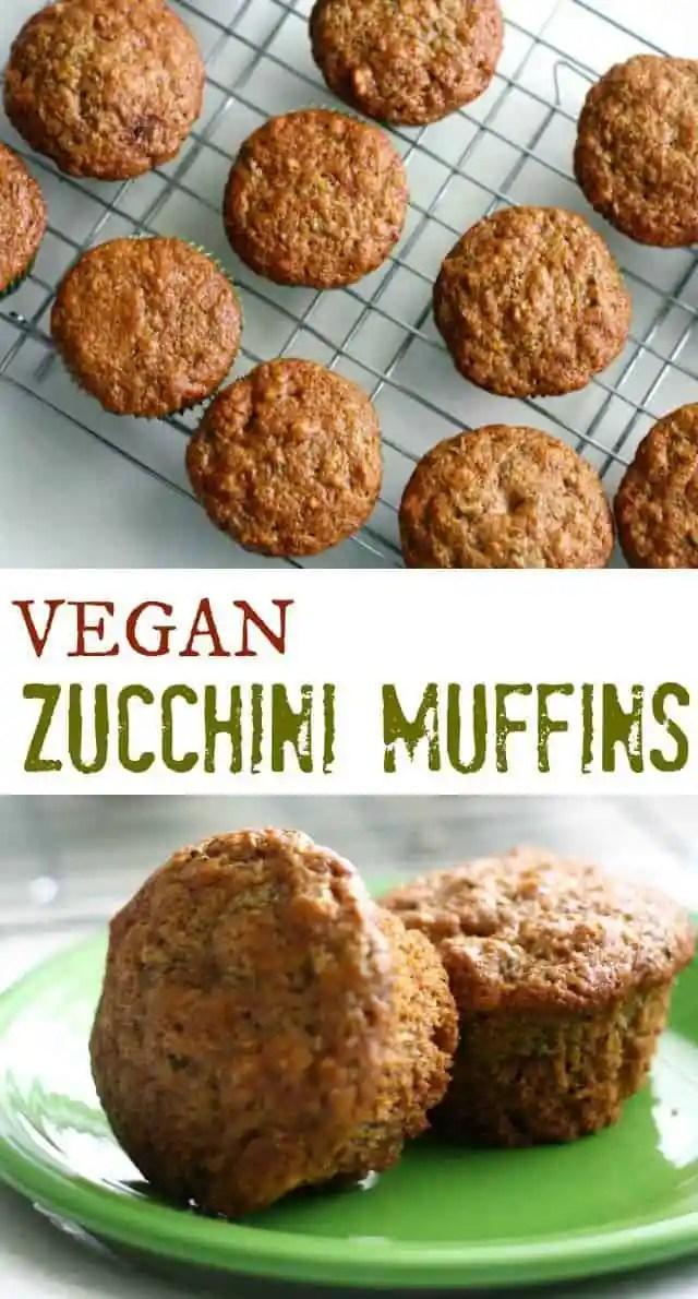 Easy zucchini muffin recipe - so delicious!