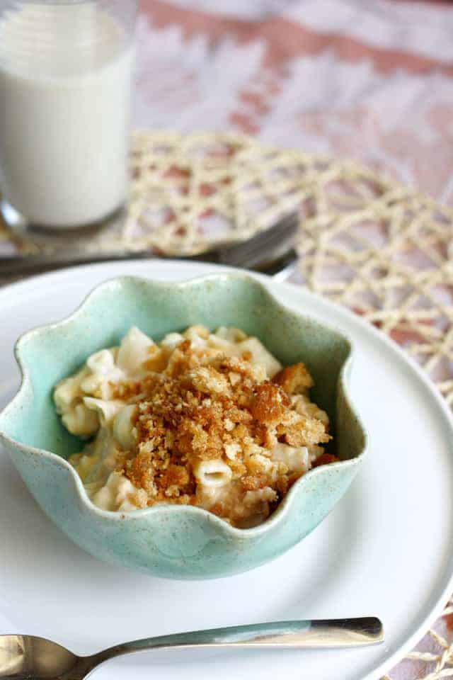 dairy free tuna mac and cheese