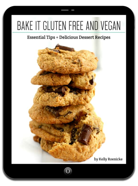 Find out how to successfully bake delicious gluten free and vegan desserts with this ebook by Kelly Roenicke.