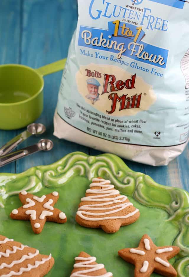 Classic gluten free and vegan gingerbread cookies. #sponsored