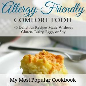 allergy friendly cookbook