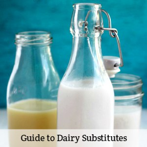 guide to dairy substitutes