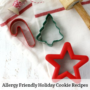allergy friendly holiday cookies