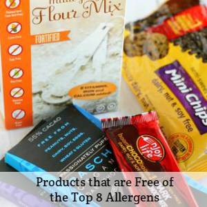products that are free of the top 8 allergens