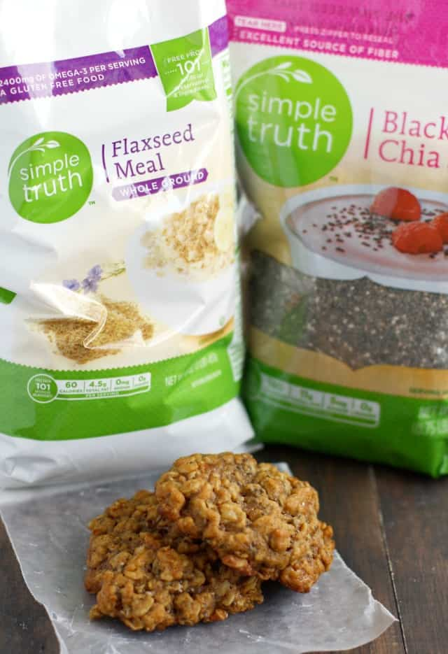 Simple and healthy oatmeal breakfast cookie reicipe. #backtoschool #ad