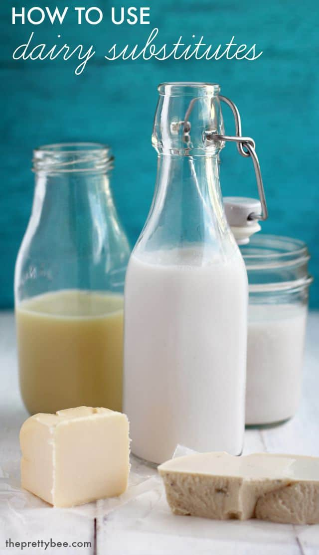 How to use dairy substitutes in your cooking and baking. This article takes the guesswork out of using dairy substitutions.