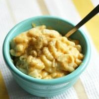 vegan and gluten free mac and cheese