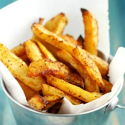easy oven baked french fries