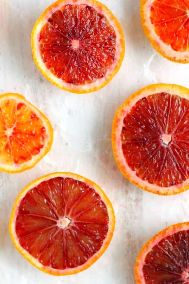 blood orange slices