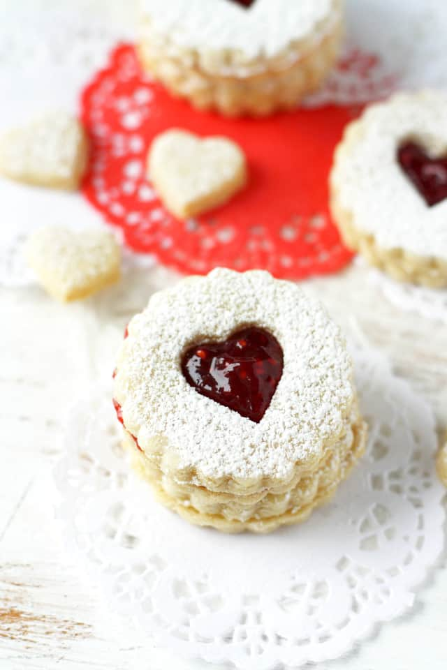 recipe for gluten free linzer cookies