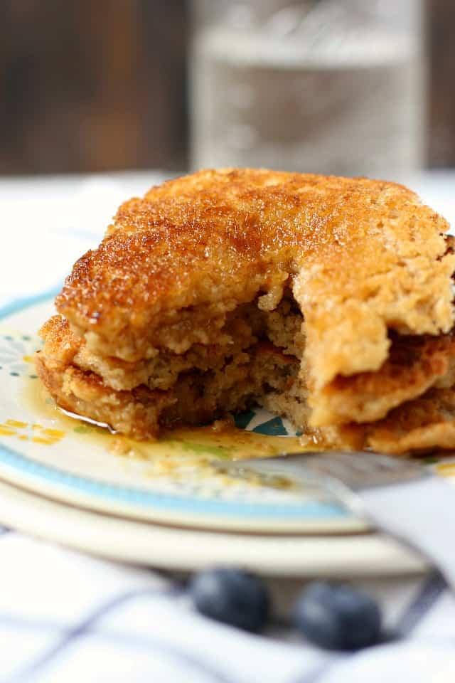 egg free and dairy free pancake recipe