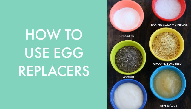 It's easy to use egg replacers - find out what ones work best in this post!
