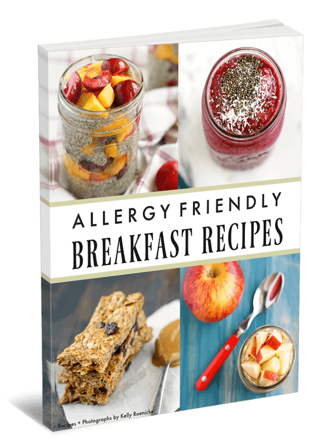 Learn to make tasty allergy friendly breakfast recipes with this ebook.