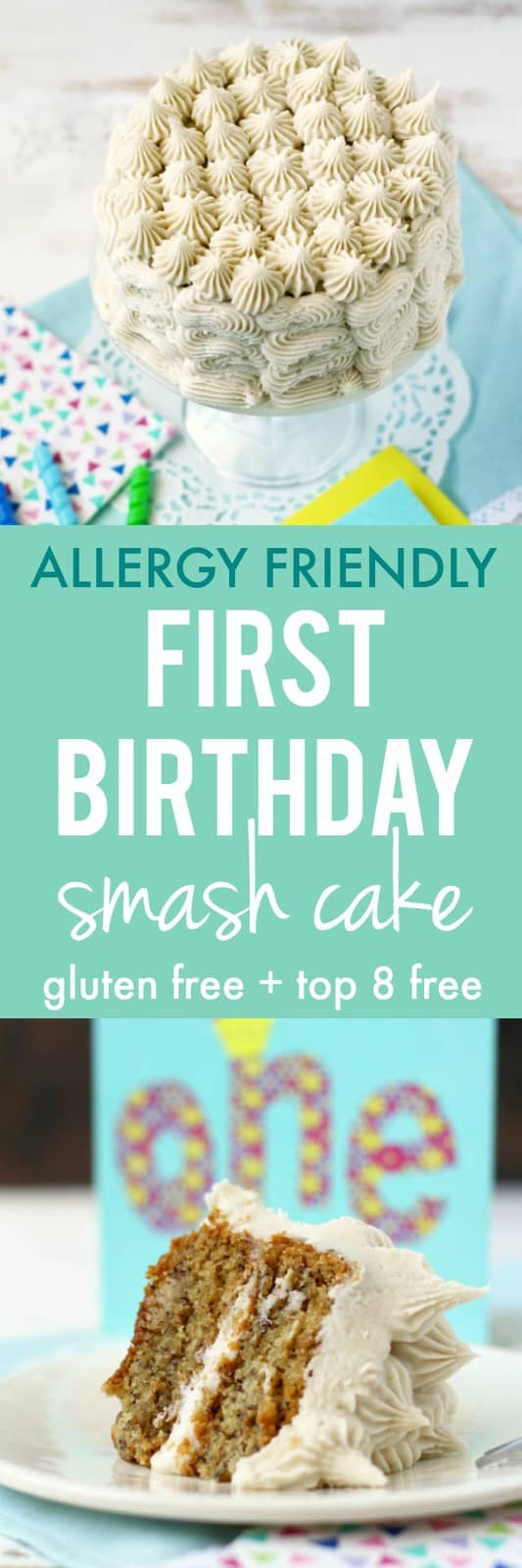 First Birthday Smash Cake Gluten Free Allergy Friendly The