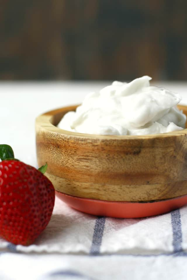 vegan whipped coconut cream