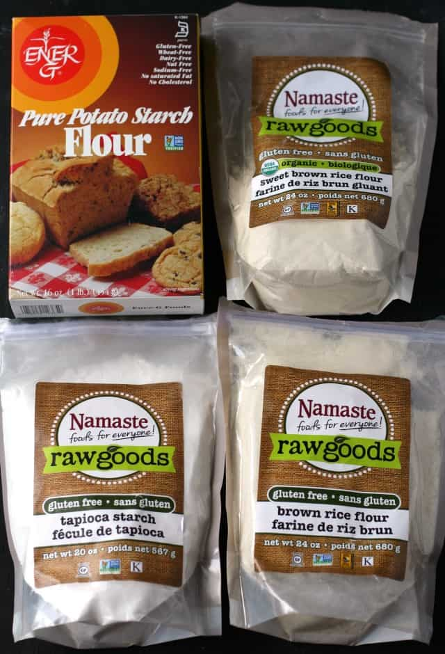 gluten free flour blend ingredients