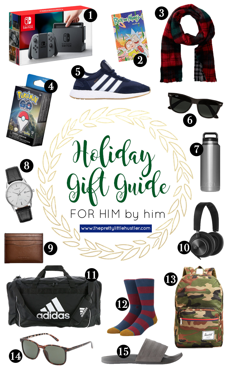 Gift Guide: For Him BY Him! - Pretty Little Hustler Blog