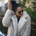 sherpa coat, teddy coat, how to style a teddy coat, winter neutrals, black girl blogger, nyc blogger, nyc fashion blogger, black fashion blogger, winter ootd, winter outfit inspo