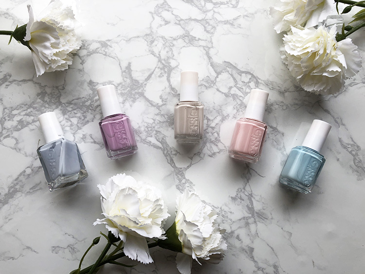 Top Five Spring Nail Colors - Pretty Little Hustler Blog