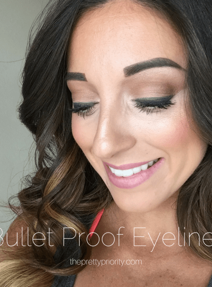 Bullet Proof Eyeliner: Keep Your Eyeliner in Place!