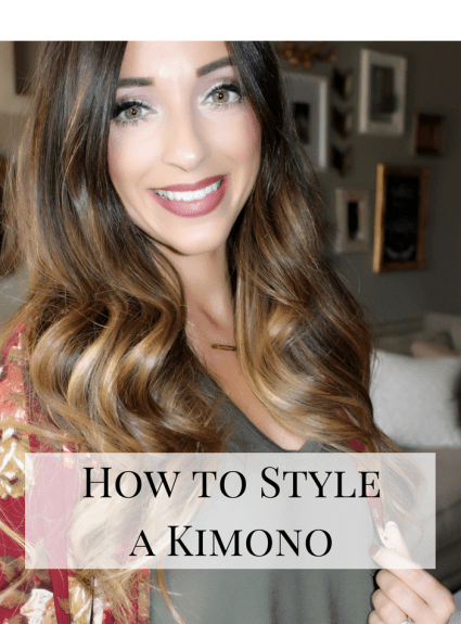 Transitioning from Summer to Fall: How to Style a Kimono
