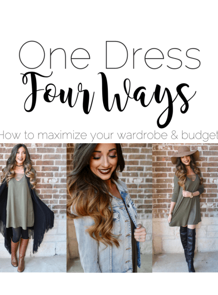 How to Style One Dress Four Ways Vol. 2