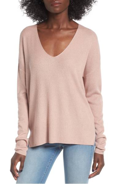 BP soft pullover sweater