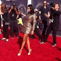 Nicki Minaj slaying the red carpet