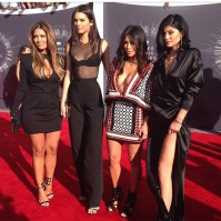 The Jenners and Mrs. Kardashian West