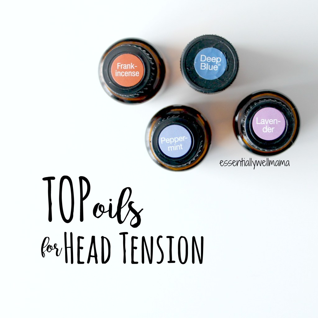 essential oils head tension