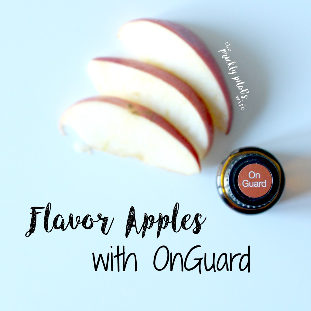 onguard flavored apples
