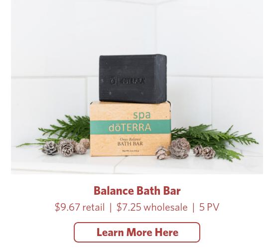 doterra balance bath bar soap