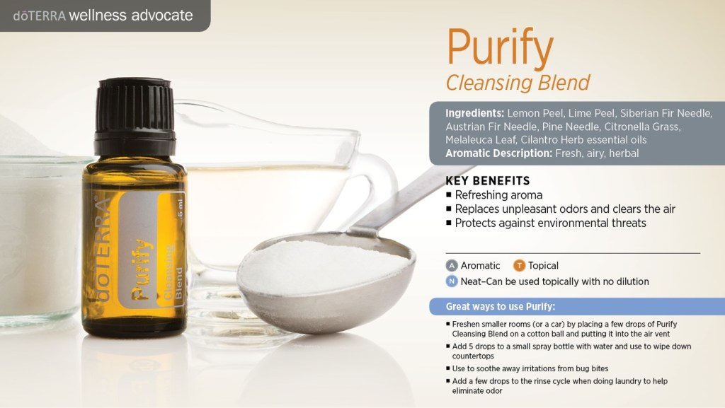 doterra purify essential oil uses key benefits