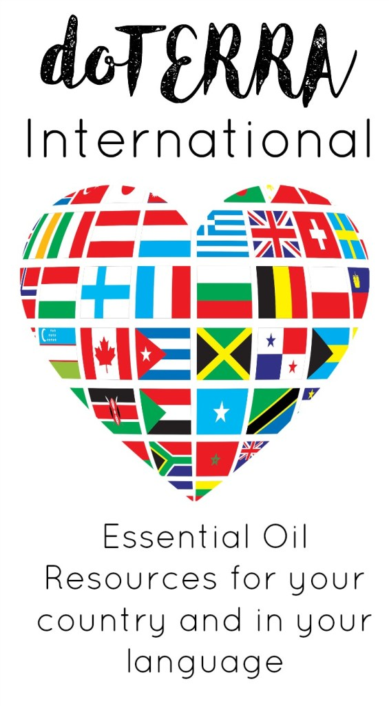 doterra in international markets language country flags
