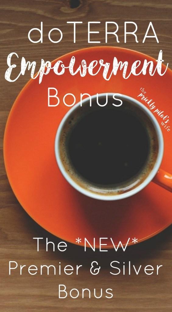 doterra empowerment bonus premiers silvers
