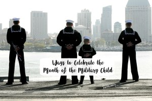 month of the military child april