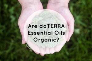 doterra essential oils organic