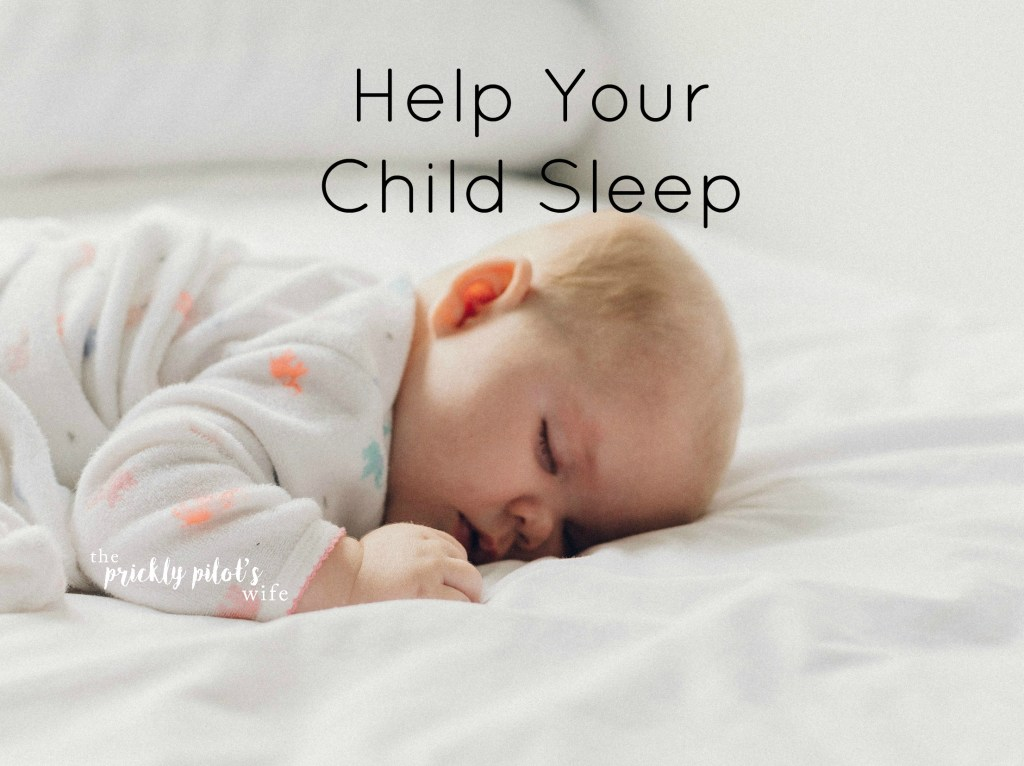 help your child sleep - improve sleep hygiene naturally