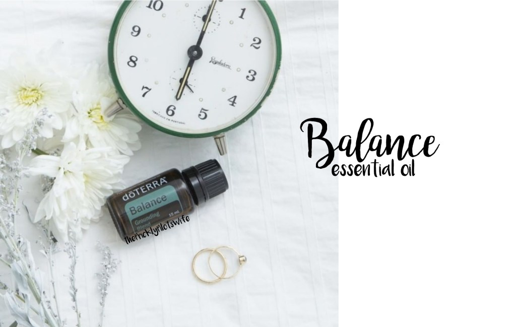 doterra balance essential oil uses and benefits