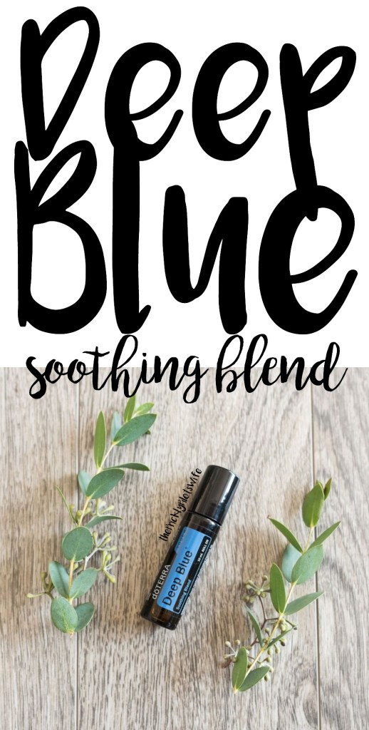 doterra deep blue uses and benefits soothing blend