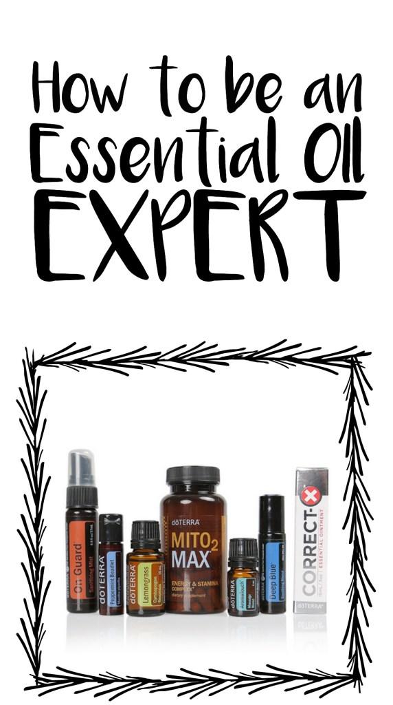 doterra essential oil expert