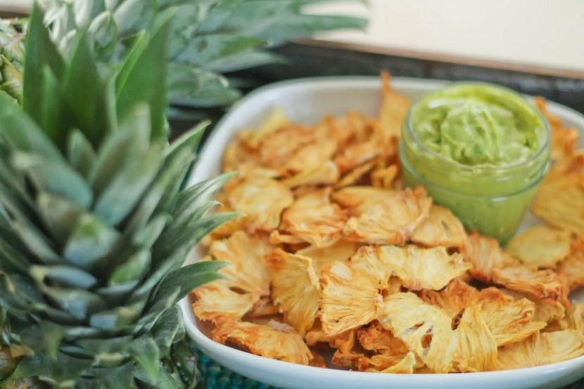 Pineapple Chips N' Dip - www.ThePrimalDesire.com