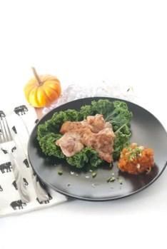 Pumpkin Panang Curry Chicken - www.ThePrimalDesire.com