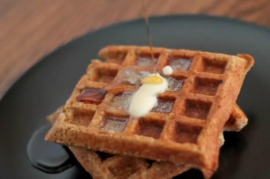 Nutty Waffles 08