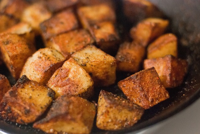 Moroccan Spiced Potatoes 06