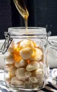 Fermented Honey Garlic is incredibly versatile, easily making many dishes more exciting - meats and vegetables, as a dip or a marinade. Simple. http://wp.me/p4Aygm-26s