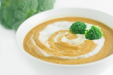 Delicious year 'round! Smooth, creamy, and savory, Curry Cream of Broccoli Soup is the perfect comfort food when the temperature starts to drop! http://wp.me/p4Aygm-1TW